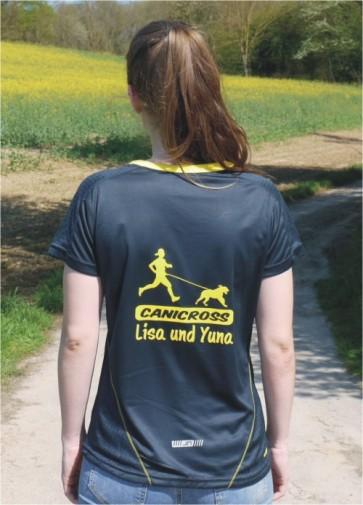 Damen Running T-Shirt mit Wunschmotiv