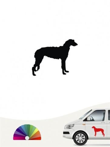 Hunde-Autoaufkleber Deerhound 1 Mini von Anfalas.de