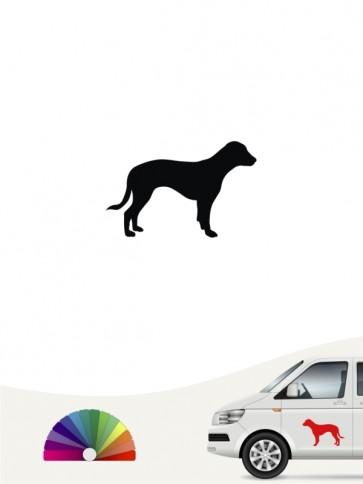 Hunde-Autoaufkleber Deutsche Bracke 1 Mini von Anfalas.de