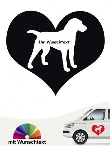 Deutscher Jagdterrier 4 Aufkleber