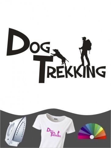 Hunde-Bügelbild Dogtrekking 20 von Anfalas.de