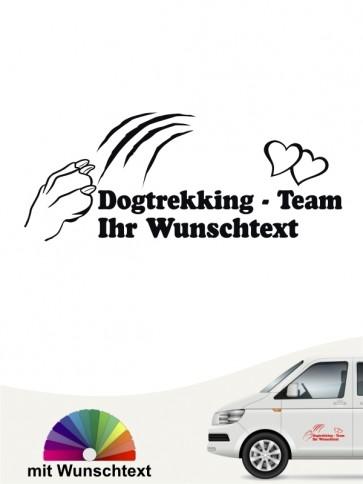Hunde-Autoaufkleber Dogtrekking 5 von Anfalas.de