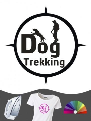 Hunde-Bügelbild Dogtrekking 6a von Anfalas.de