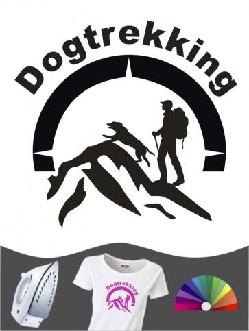 Hunde-Bügelbild Dogtrekking 9 von Anfalas.de