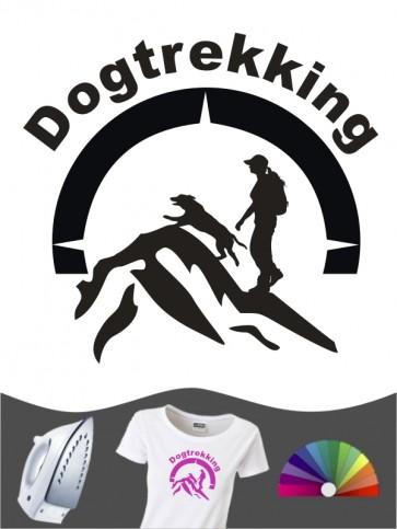 Hunde-Bügelbild Dogtrekking 9a von Anfalas.de