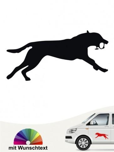 Hunde-Autoaufkleber Dummytraining 7 von Anfalas.de