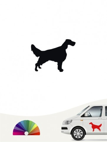 Hunde-Autoaufkleber English Setter 1 Mini von Anfalas.de