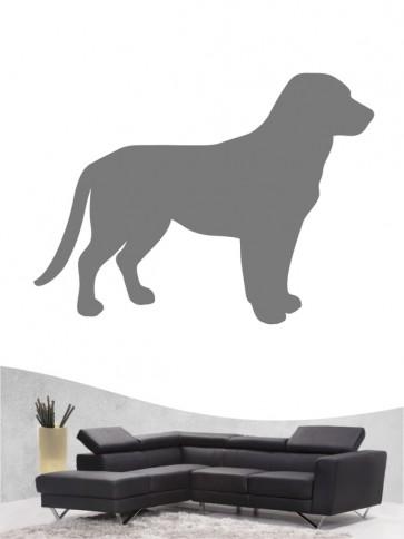 Entlebucher Sennenhund 1a - Wandtattoo