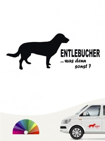 Entlebucher was denn sonst Autosticker anfalas.de