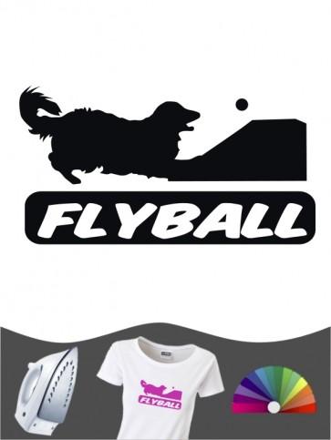 Hunde-Bügelbild Flyball 3 von Anfalas.de