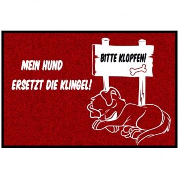 Fußmatte Hundemotiv lustig Anfalas.de