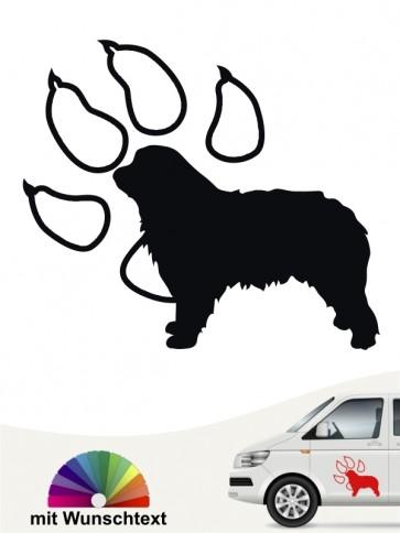 Hunde-Autoaufkleber Gos d'Atura Català 14 von Anfalas.de