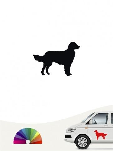 Hunde-Autoaufkleber Großer Münsterländer 1 Mini von Anfalas.de