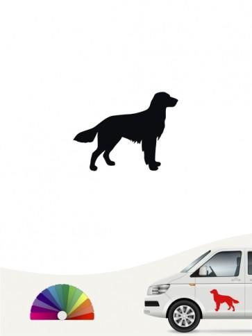 Hunde-Autoaufkleber Großer Münsterländer 1a Mini von Anfalas.de
