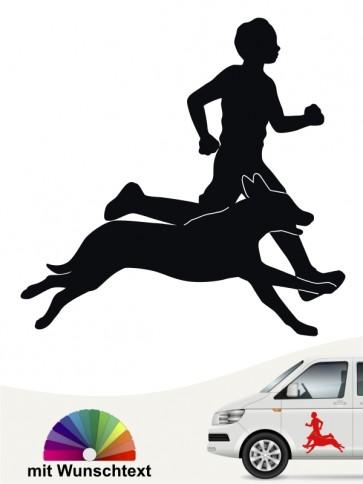 Sport Hunde Aufkleber von anfalas.de