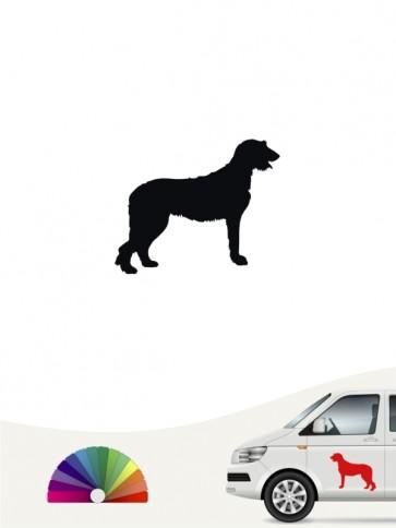 Hunde-Autoaufkleber Irish Wolfhound 1 Mini von Anfalas.de