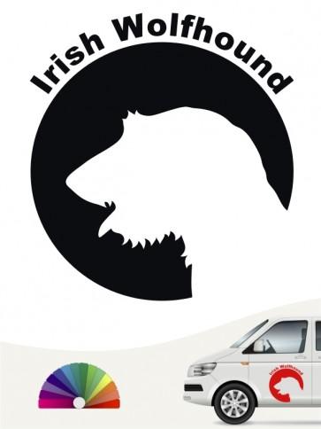 Irish Wolfhound Aufkleber von anfalas.de