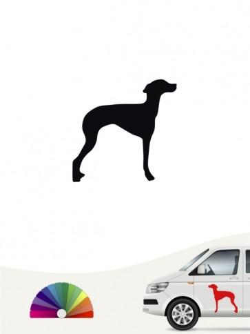 Hunde-Autoaufkleber Italienisches Windspiel 1 Mini von Anfalas.de