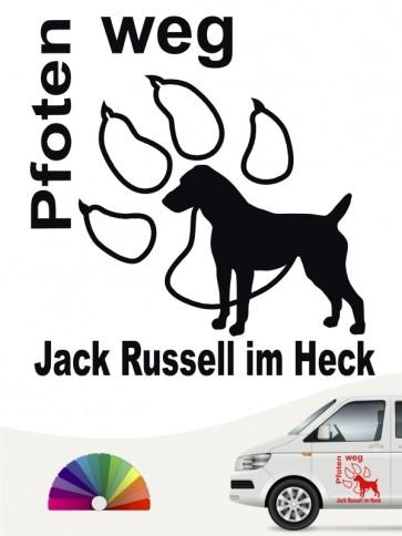 Hunde-Autoaufkleber Jack Russell Terrier 5 von Anfalas.de