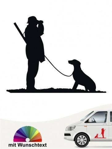 Jagdhunde Aufkleber fürs Auto von anfalas.de