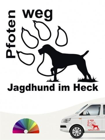 Hunde-Autoaufkleber Jagdhund 5 von Anfalas.de