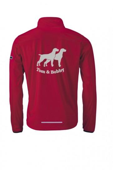 Herren Sport Softshell-Jacke mit Wunschlogo und Wunschtext von anfalas.de