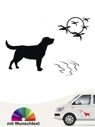 Hunde-Autoaufkleber Labrador Retriever 10 von Anfalas.de