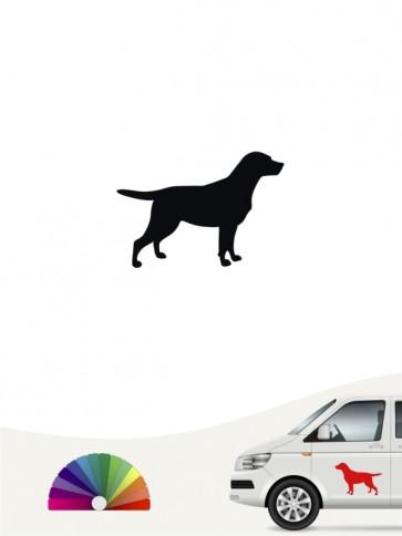 Hunde-Autoaufkleber Labrador Retriever 1a Mini von Anfalas.de