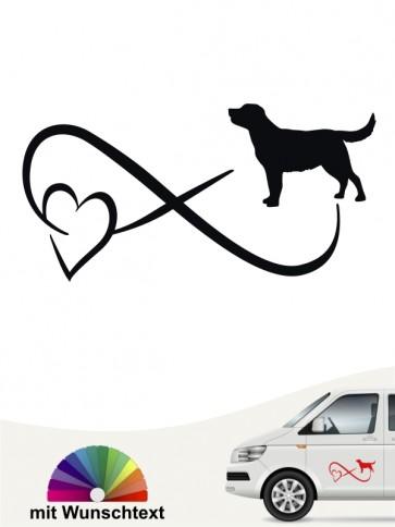 Labrador Retriever Autoaufkleber von anfalas.de