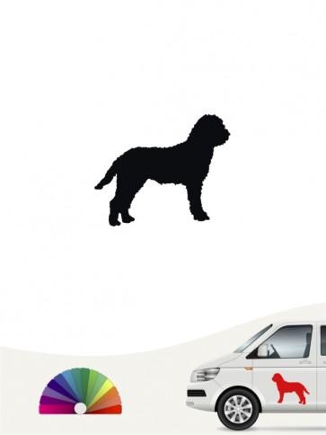 Hunde-Autoaufkleber Lagotto Romagnolo 1 Mini von Anfalas.de