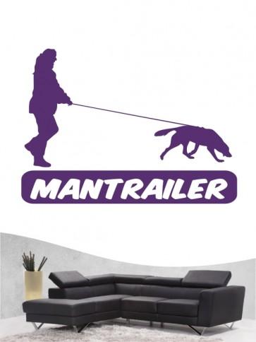Mantrailing 8 - Wandtattoo
