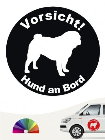 Mops Aufkleber von anfalas.de