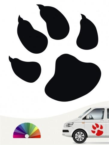 Hunde-Autoaufkleber Pfoten 1 von Anfalas.de