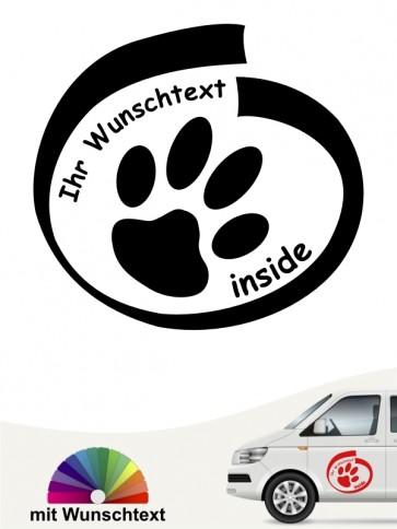 Hunde-Autoaufkleber 12a von Anfalas.de