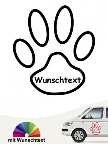Hunde-Autoaufkleber 15a von Anfalas.de