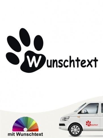 Hunde-Autoaufkleber 16a von Anfalas.de