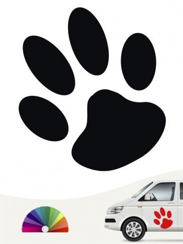 Hunde-Autoaufkleber Pfoten 1a von Anfalas.de