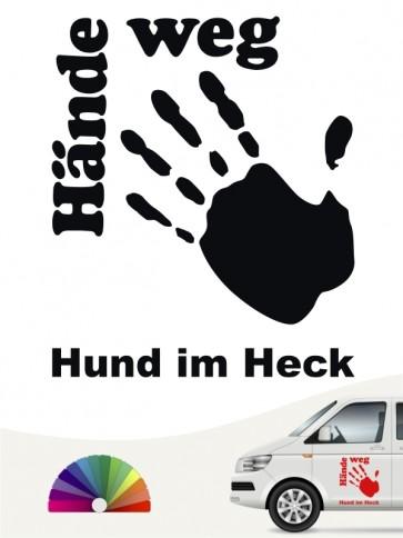 Hunde-Autoaufkleber Pfoten 20 von Anfalas.de