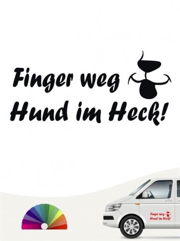 Hunde-Autoaufkleber Pfoten 30 von Anfalas.de