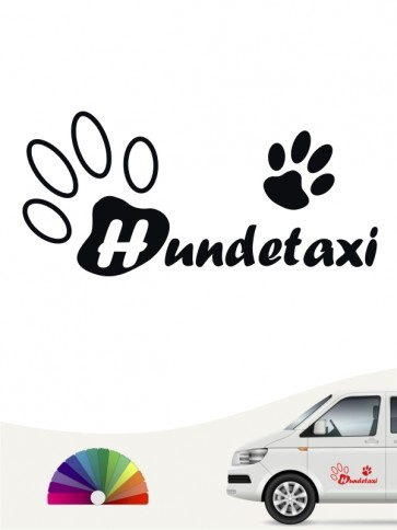Hunde-Autoaufkleber Pfoten 32 von Anfalas.de
