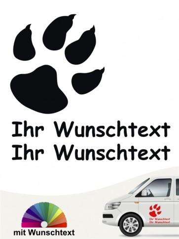 Hunde-Autoaufkleber Pfoten 35 von Anfalas.de