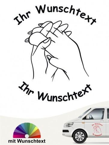 Hunde-Autoaufkleber Pfoten 50 von Anfalas.de