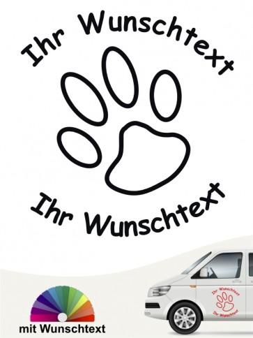 Hunde-Autoaufkleber 6 von Anfalas.de