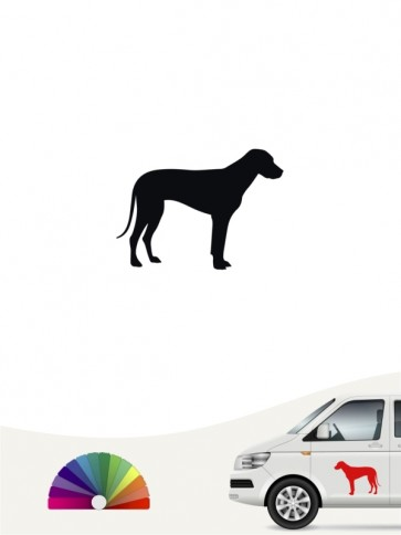 Hunde-Autoaufkleber Rhodesian Ridgeback 1 Mini von Anfalas.de