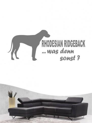 Rhodesian Ridgeback 7 - Wandtattoo