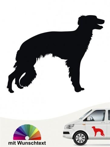 Hunde-Autoaufkleber Silken Windsprite 1 von Anfalas.de