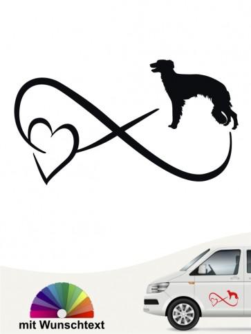 Hunde-Autoaufkleber Silken Windsprite 40 von Anfalas.de