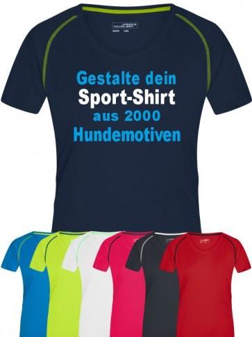 Sport-Shirt für Hundesportler von anfalas.de