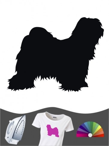 Tibet Terrier 1 - Bügelbild