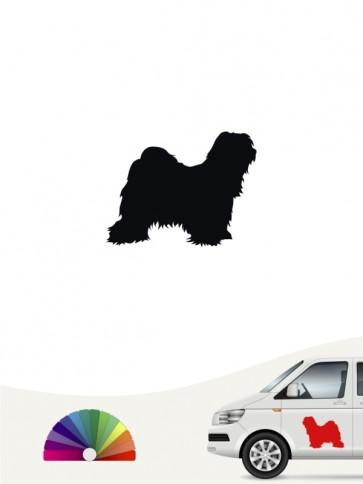 Hunde-Autoaufkleber Tibet Terrier 1 Mini von Anfalas.de